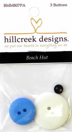 N- Button Pack Beach Hut