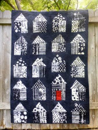 Red Door Quilt Pattern by Bella Nonna