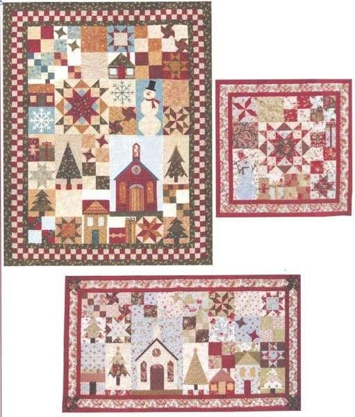 Be Merry - 6 Month Block of Month in one pattern