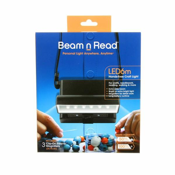 Beam N Read Hands Free Craft Light With Magnifier