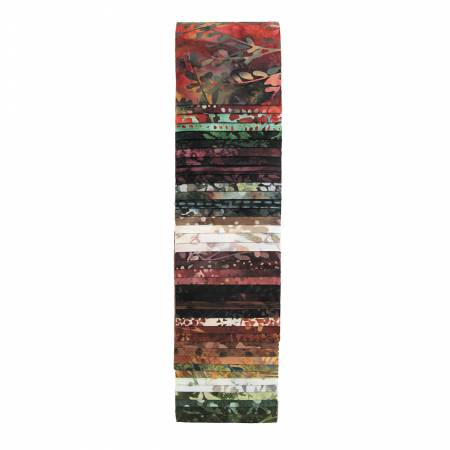 Batik Bali Pops Spice Jelly Roll BP-160 Fireside Chat Hoffman Batiks....