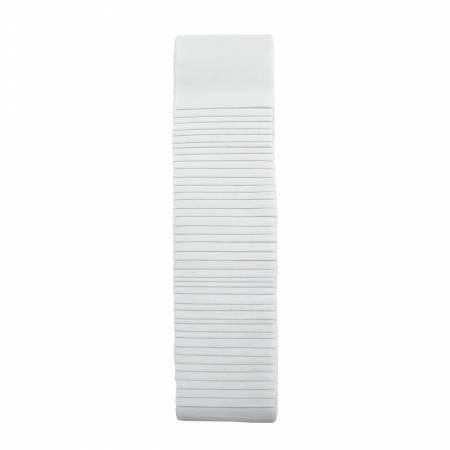 2-1/2in Strips Bali Pops White , 40pcs