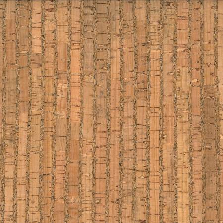 prepacked cork blend fabric 18in x 15in roll natural pattern