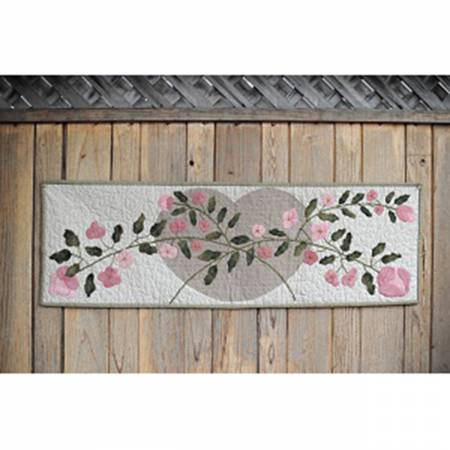 Heart And Rose Table Runner