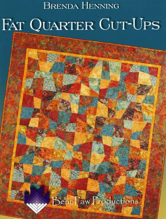 Fat Quarter Cut-Ups - Softcover 40% OFF