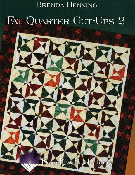 Fat Quarter Cut-Ups - Softcover