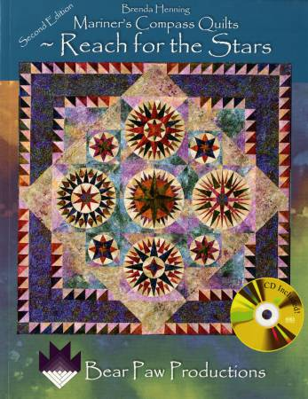 Mariner's Compass Quilts Reach For the Stars - Softcover