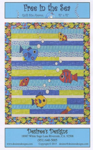 DESIREE'S DESIGNS FREE IN THE SEA BY BQ-09