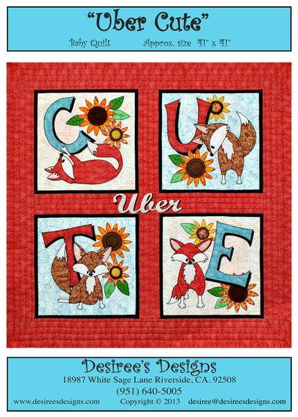 Uber Cute Baby Quilt