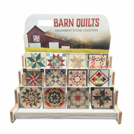 Barn Quilt Coaster - Assorted