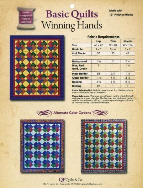 Basic Quilts - Winning Hands