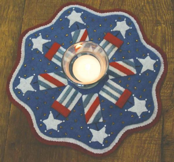 Kit Candle Mat Firecrackers