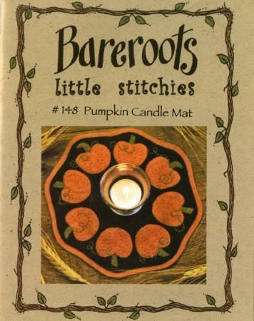 Little Stitchies - Pumpkins Candle Mat