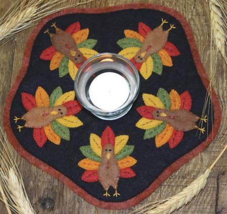 Turkey Candle Mat Kit