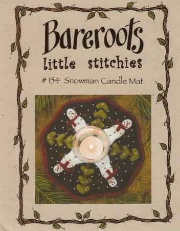 Candle Mat Snowmen Kit