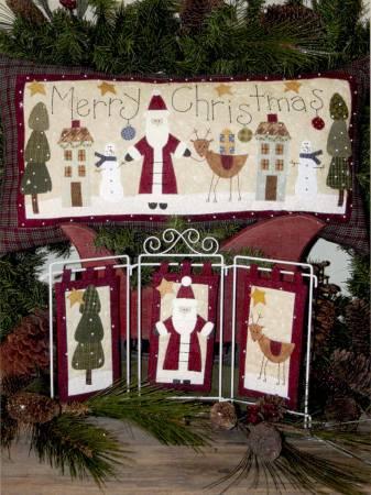 Santa Claus Pillow & Motifs
