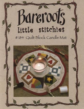 Little Stitchies - Quilt Block Candle Mat