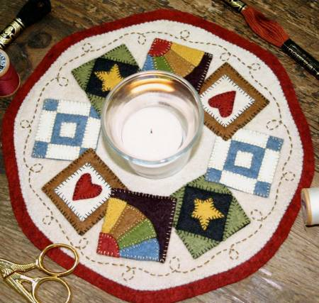 Kit Candle Mat Quilt Blocks