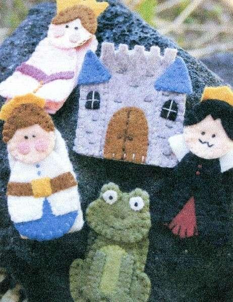 Little Stitchies - Fairytale Finger Puppets