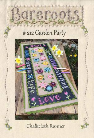Garden Party Chalkcloth Runner