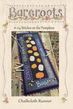 Stitches on the Pumpkin Pattern
