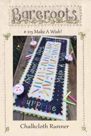 Make A Wish Chalkcloth Runner