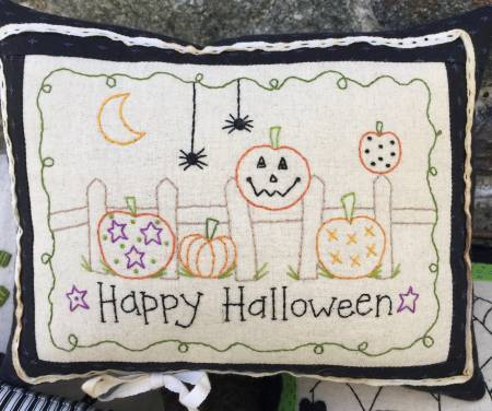 Stitched Pumpkins Little Pillow Kit