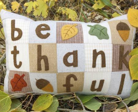 Be Thankful Little Pillow Kit
