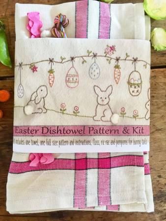 Easter Dishtowel Pattern & Kit