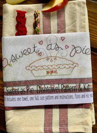 Sweet as Pie Dishtowel Kit