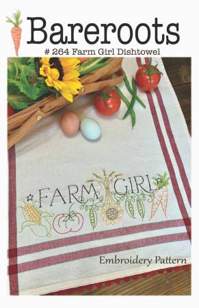 Farm Girl Dishtowel