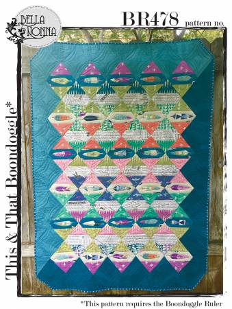 This &That Boondoggle Quilt by Bella Nonna