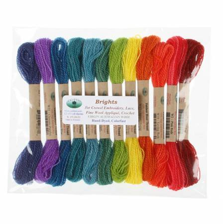 Valdani Wool Thread Collection Brights