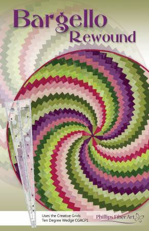 Bargello Rewound 12 Page Booklet with Insert and Mini Wedge