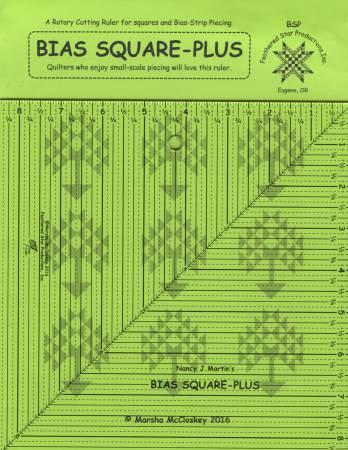 Bias Square-Plus Ruler 8-1/2in x 8-1/2in
