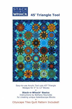 Magic Carpet (with45-degree Stack-n Whack ruler)