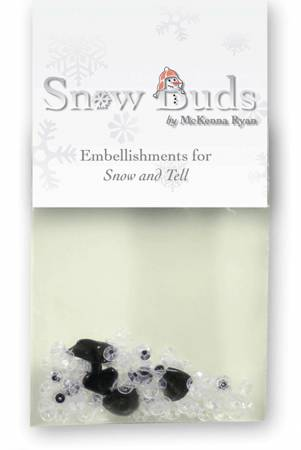 Embellishment Kit Snow Buds - BUD01 Snow & Tell