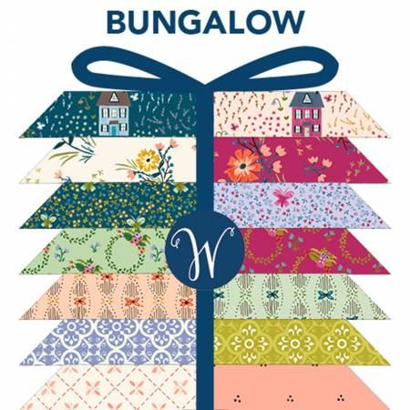 Bungalow Fat Quarter Bundle 24pcs