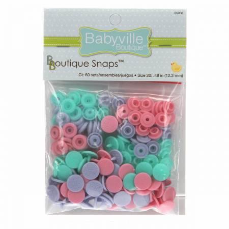 Babyville Boutique Snaps Size 20 Butterflies