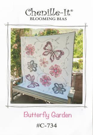 Chenille-It Butterfly Garden Quilt Pattern
