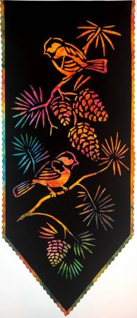 Chickadee Laser Silhouette Wall Hanging C-L-2017