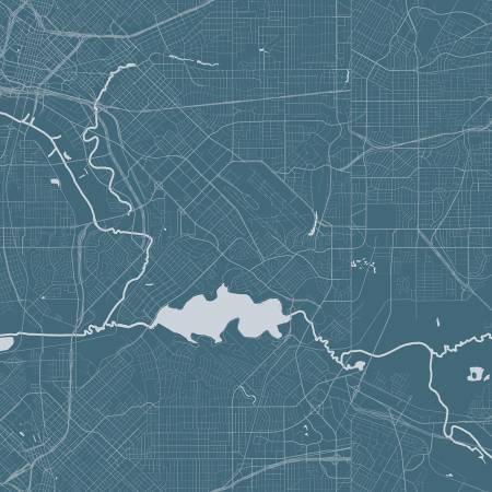 C10030-BLUE Destinations Map Destinations by Anderson Design Group Riley Blake