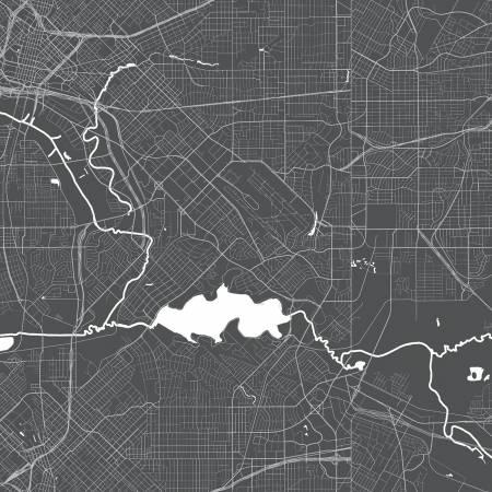 Destinations Map Charcoal
