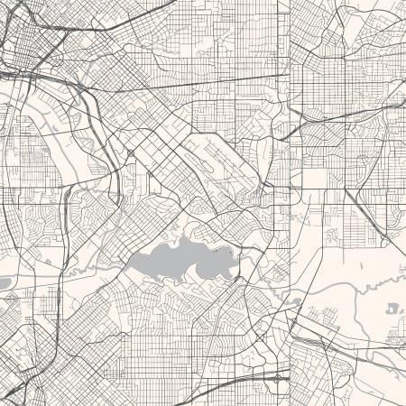 Destinations Map Cream