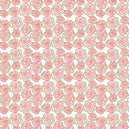 From The Heart Roses Cream by Sandy Gervais for Riley Blake C10052-CREA