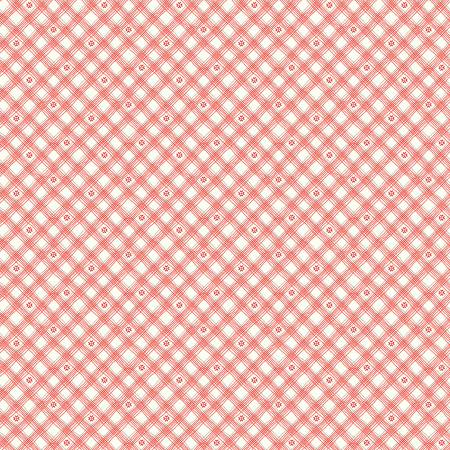 From The Heart Plaid Cream by Sandy Gervais for Riley Blake C10056-CREA
