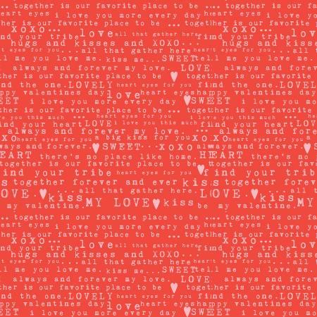 Sending Love C10081-RED