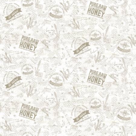Bees Life Tonal Parchment