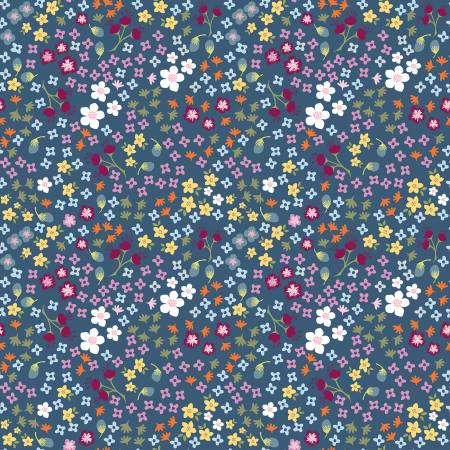 Bloom And Grow C10112 Floral Navy