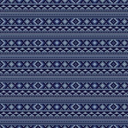 Back Of The Chutes C10131R-DENI Stripe Denim